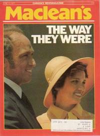 MacLean's Canada's Newsmagazine, June 13, 1977, ...The Way They Were Margaret Trudeau and Pierre Elliott Trudeau Break-Up, Johnny Reeferseed, Dada's Boys, The Golden Baugh, Voyage of the Darned, ++