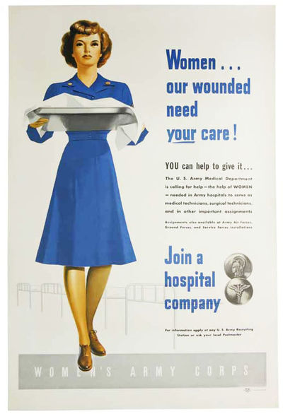 WOMEN . . . OUR WOUNDED NEED YOUR...