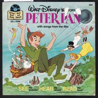 image of Walt Disney's Story of Peter Pan - A Disney Record and Book No.304