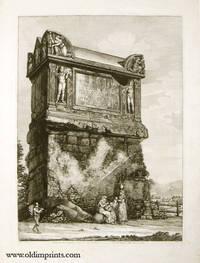 Veduta del Gran Sepolero volgarmente detto di Nerone. Sulla Via Flaminia, 5. Miglia lontano da Roma