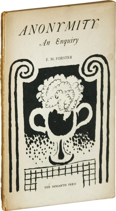 London: Hogarth Press, 1925. First Edition. Hardcover. The Hogarth Essays XII; boards designed by Va...