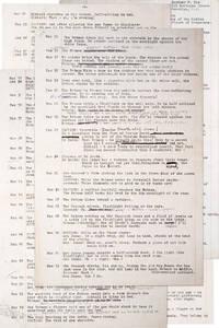 Original Manuscript for the 4th Batman Story