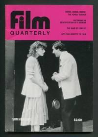 Film Quarterly (Summer 1983) [cover: Sandra Bernhard and Robert DeNiro in  THE KING OF COMEDY]