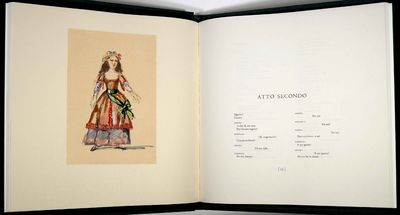 Mozart Wolfgang Amadeus. Cosi Fan Tutte. Xilografie di Balthus. New York: Limited Editions Club, 200...