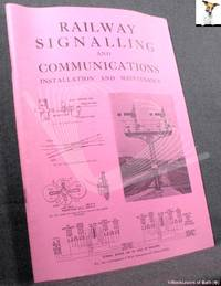 image of Railway Signalling and Communications: Installation and Maintenance