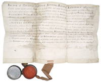 Manuscript Diploma of Doctor of Medicine for Wilhelmus Noortwyk, Leiden University, May 31, 1735 by  Wilhelmus Noortwyk - from Black Dog Rare Books (SKU: 76)