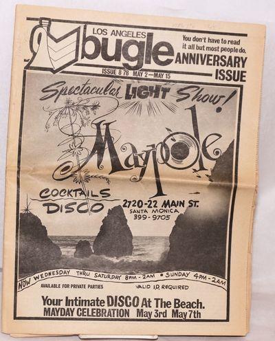 Los Angeles: Bugle, 1978. Newspaper. 40p. folded tabloid newspaper, photos, ads, listings, more b&w ...