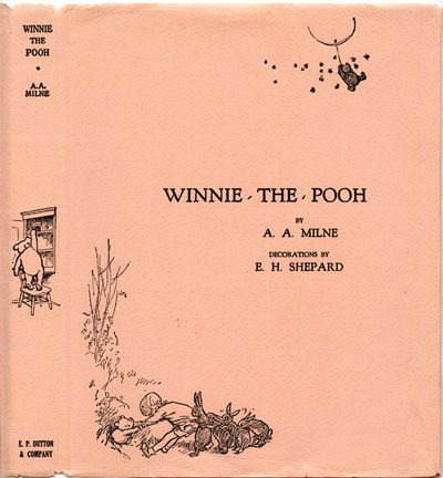 Winnie the pooh by a a milne signed first edition 1926 for Rough and milne