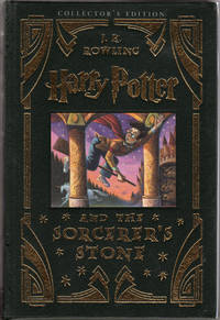Harry Potter and the Sorcerer's Stone (Book 1) [Leather Limited US Deluxe Collector's Edition]