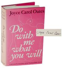Do With Me What You Will (Signed First Edition)