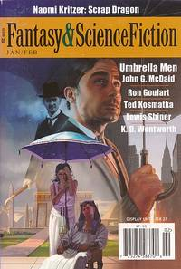 The Magazine of Fantasy and Science Fiction. Volume 122 Nos 1 & 2. January/February 2012