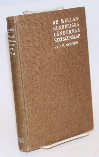 Stockholm: P. A. Norstedt & Söners Fürlag, 1911. 514p, cloth-bound boards, mild wear at ends of sp...