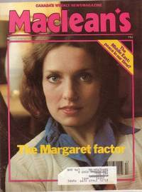 MacLean's Canada's Weekly Newsmagazine, March 26, 1979,...The Margaret Trudeau Factor, Glen Loates, +++