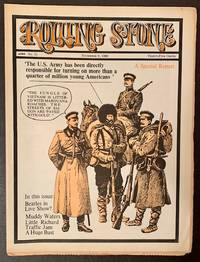 Rolling Stone (Issue #21, November 9th, 1968 -- Lenin and His Revolutionary Guard on the Cover) by  Ed Jann Wenner - Paperback - First Edition - 1968 - from Appledore Books, ABAA (SKU: 17855)