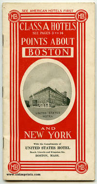 Class A Hotels. Points About Boston. Points About New York. Map United States