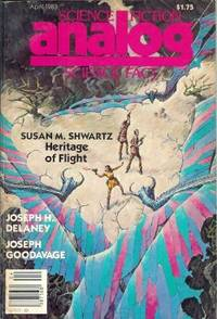 """ANALOG Science Fiction/ Science Fact: April, Apr. 1983 (""""In the Face of My Enemy"""")"""