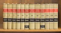 Federal Rules Decisions. Vols. 1-169; 171-200.(1939-2001). 199 books