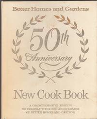 Better Homes and Gardens New Cook Book 50th Anniversary
