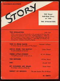 New York: Story Magazine Inc, 1940. Softcover. Near Fine. Wrappers. Owner name stamp on the title pa...