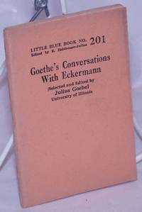 image of Goethe's Conversations with Eckerman
