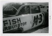 Twenty-four vernacular photographs from the final NASCAR race on Daytona Beach, 1958