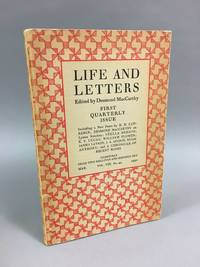 Life and Letters. Vol. VIII, No. 44, March 1932