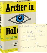 Archer in Hollywood: The Moving Target, The Way Some People Die, The Barbarous Coast (Signed First Edition)
