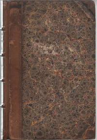 JOURNAL OF A RESIDENCE IN AMERICA:  By Frances Anne Butler (Miss Fanny Kemble).; In One Volume