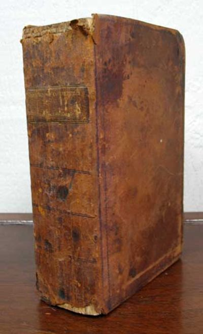 (n. p.), (n. d.). Ca 1825 - 1826. Period full sheep. Abt VG (binding wear, with chipping to leather ...