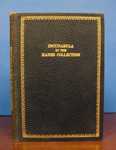 Chapel HIll NC, 1940. 1st edition. Limited to 500 cc. Flexible black leathette with gold lettering. ...
