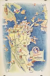 Tarantino's Map of San Francisco and the Bay Area.
