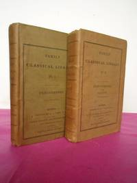 FAMILY CLASSICAL LIBRARY - DEMOSTHENES No.I, DEMOSTHENES SALLUST No.II [ Numbers I and II from the Family Classical Library] by Transalted byThomas Leland - First Edition Thus - 1830 - from Loe Books and Biblio.com