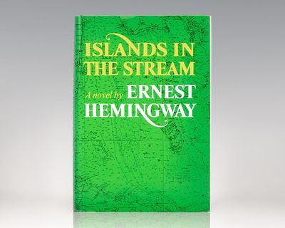 New York: Charles Scribner's Sons, 1970. First edition of Hemingway's autobiographical novel in thre...