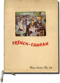 image of French Cancan [French-Cancan] (Original program for the 1955 film)