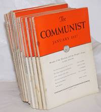 image of The Communist; a magazine of the theory and practice of Marxism-Leninism.  Vol. 16, [12 issues], 1937