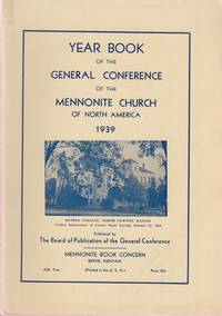 Year Book of the General Conference of the Mennonite Church of North America