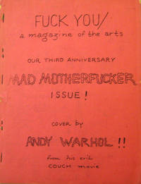 Fuck You / A Magazine of the Arts Number 5 Volume 8