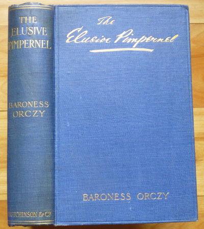 1908. London: Hutchinson & Co., 1908. 32 pp ads dated Autumn 1908. Original blue cloth. First Editio...