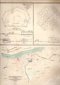 MAP: 6 Maps--Fort Pickering, Memphis, Tennessee, Fort Donelson, Tennessee, Fort at Hyde's...
