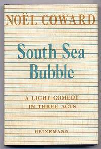 image of South Sea Bubble: A Light Comedy in Three Acts