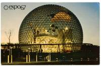 image of Expo 67 postcard signed by Robert F. Kennedy