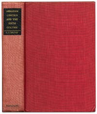 image of Abraham Lincoln and the Fifth Column [inscribed and signed by the author]