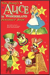 WALT DISNEY'S ALICE IN WONDERLAND PUNCHOUT BOOK