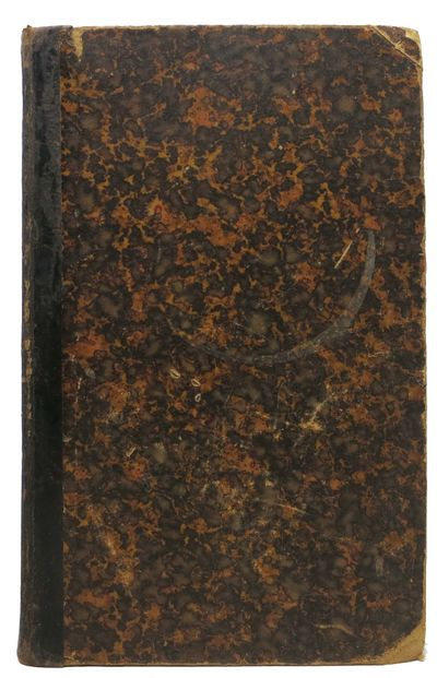 Stockholm: Rjellberg, 1876. Contemporary qtr leather with marbled paper-wrapped boards. VG (paper be...