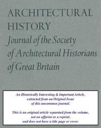 E. Bassett Keeling - a Postscript. An original article from the Architectural History Journal, 1999