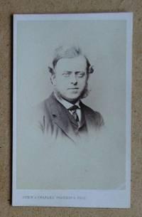 Carte De Visite Photograph: Portrait of a Gentleman.