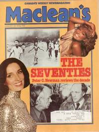 Maclean's Canada's  Newsmagazine  January 29, 1979 ...Margaret Trudeau & Pierre Trudeau on Cover, The Seventies, ++