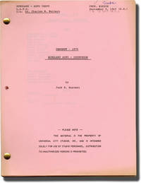 Dragnet 1970: Burglary Auto | Forgery | Narco (Collection of three original screenplays from the 1969 television series)