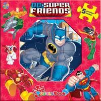 D C Puzzle Book DC Super Friends 5 Puzzles