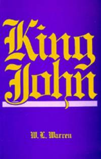 King John, Revised Edition by W. L. Warren - 1978